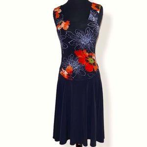 Joseph Ribkoff Sleeveless Boho Dress 8